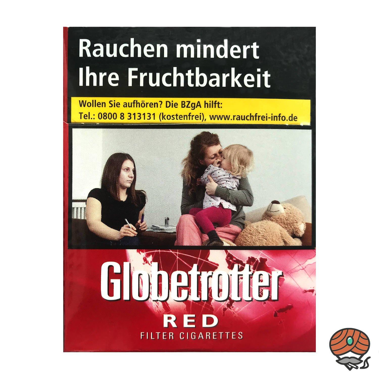 Globetrotter RED Zigaretten Big Pack - 24 Stück