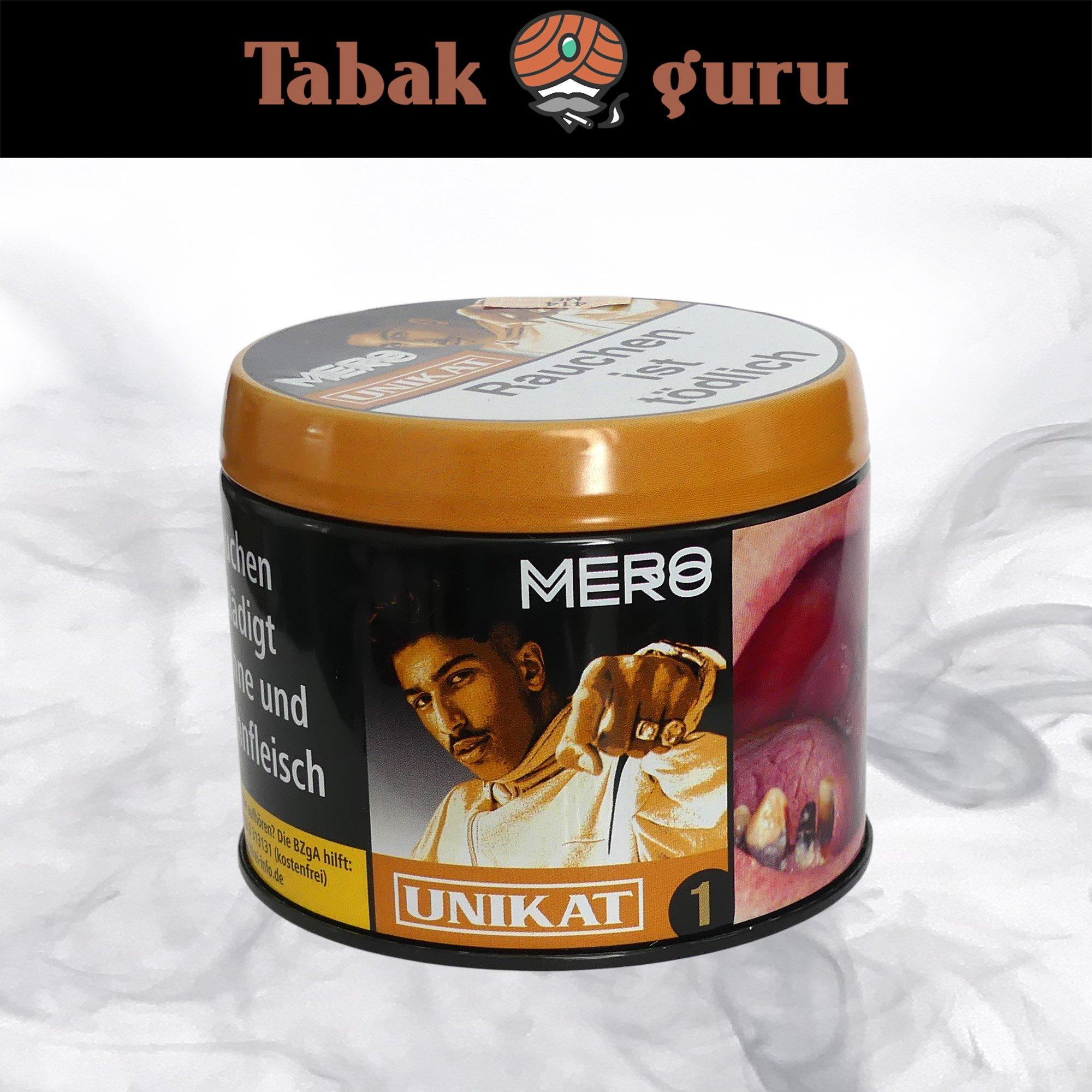 Mero Shisha Tabak - Unikat 200g