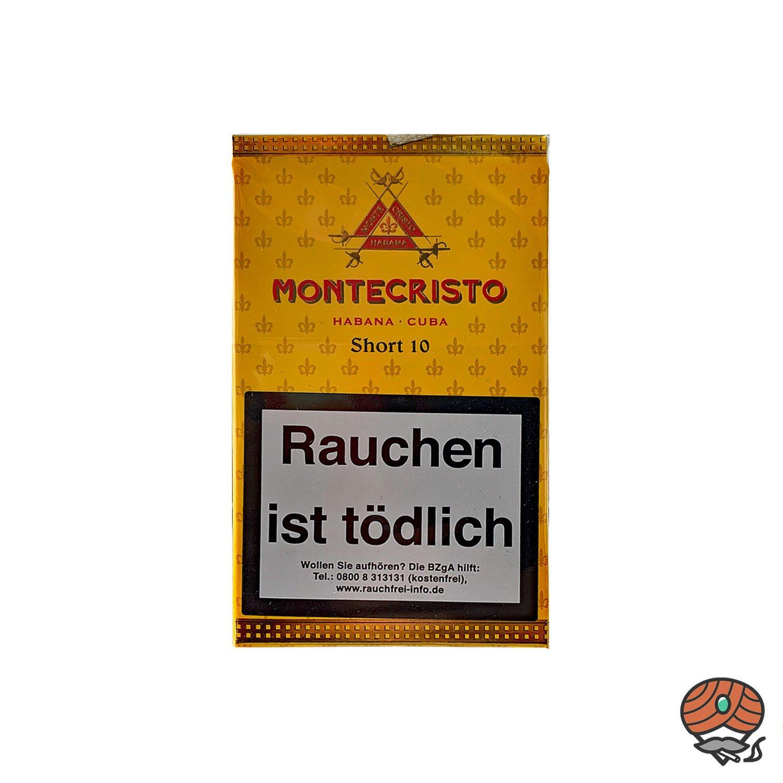 Montecristo Short 10 Zigarren / Zigarillos