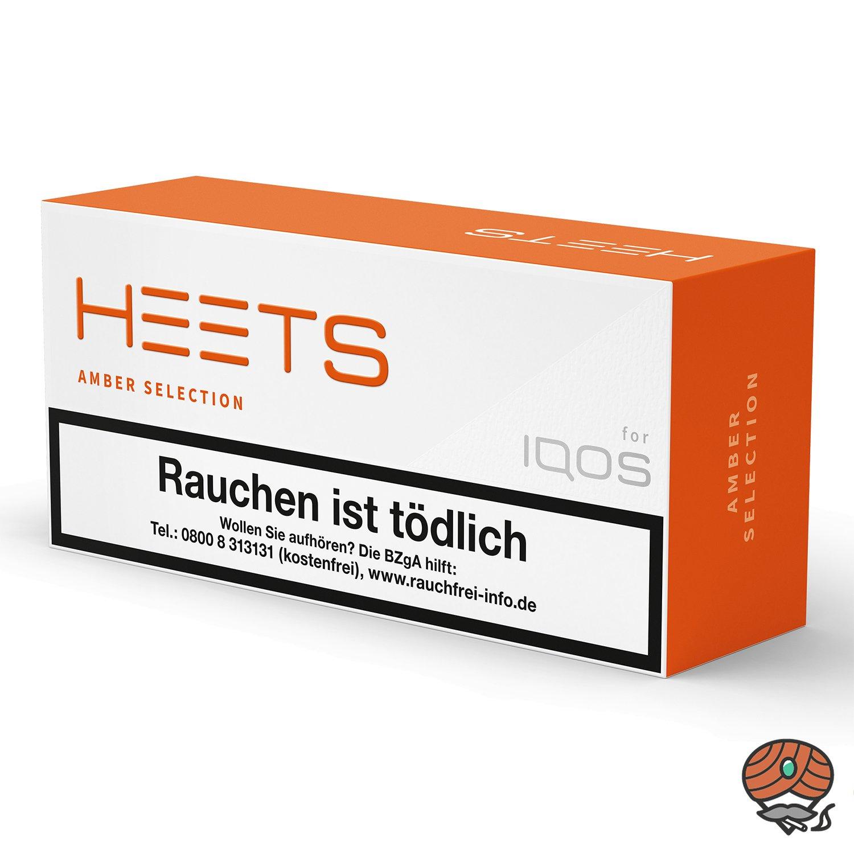10x HEETS Amber Selection Tabak Sticks von Marlboro für IQOS (1 Stange)