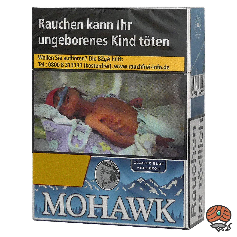 Mohawk Classic Blue Filterzigaretten Big Box 25 Stück