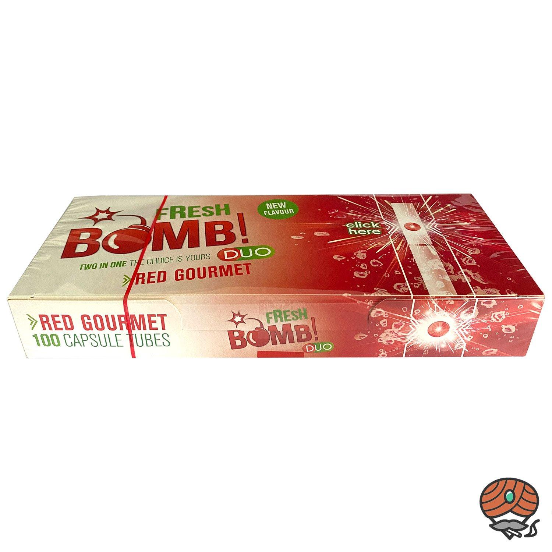 Fresh Bomb! Duo RED GOURMET Click-Zigarettenhülsen