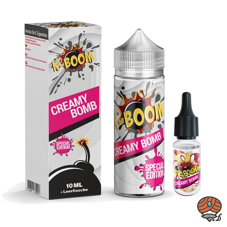 K-BOOM Creamy Bomb 10 ml Aroma + Leerflasche, Longfill