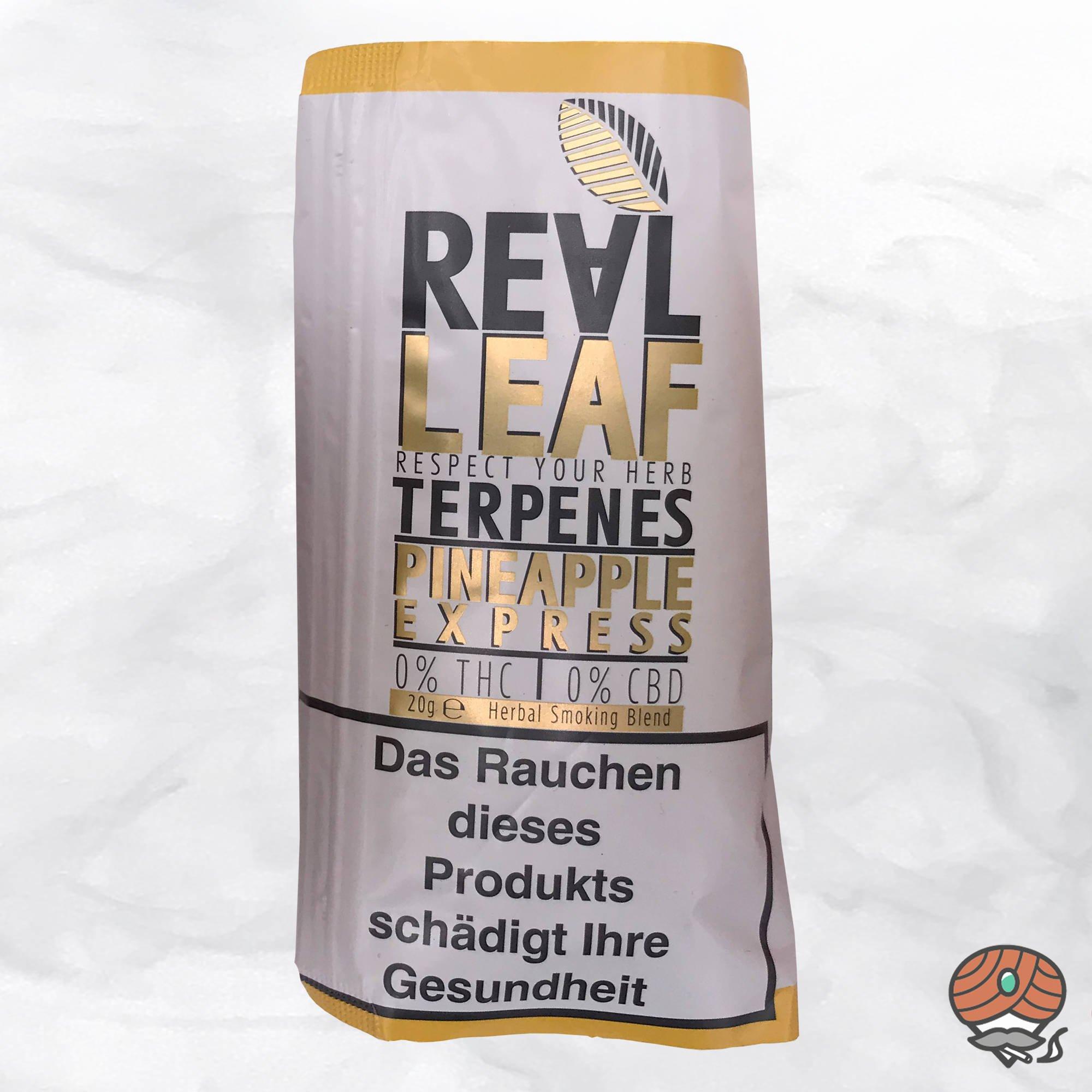 Real Leaf Pineapple Express, Tabakersatz, nikotinfrei, Kräutermischung 20g