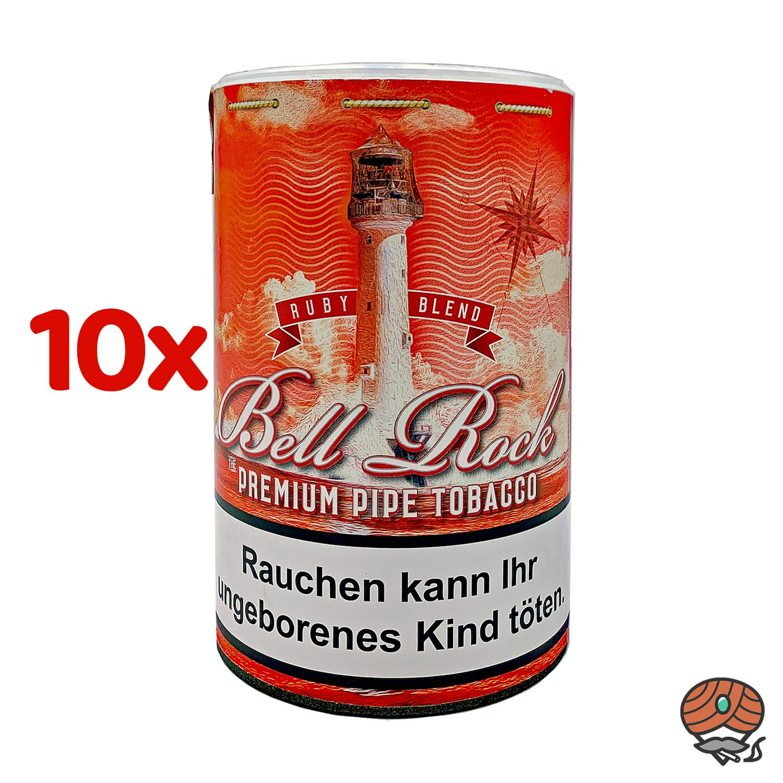 10 x Bell Rock Ruby Blend / Cherry Pfeifentabak 160 g Dose