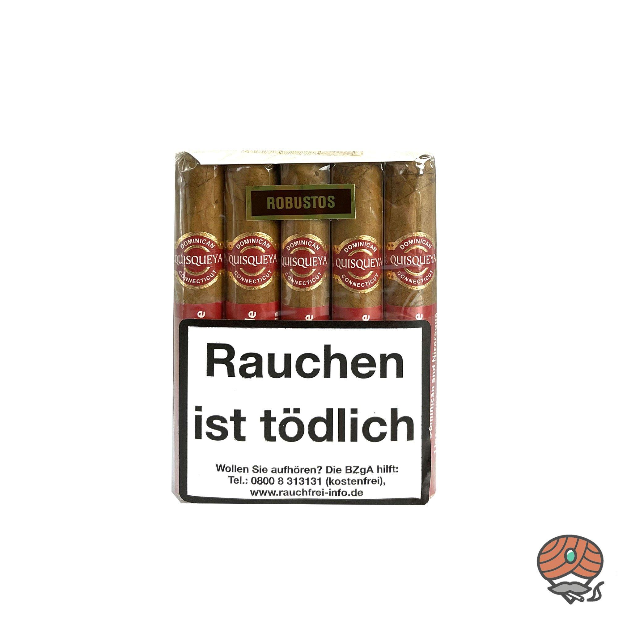 10 Quisqueya Connecticut Robusto Zigarren im 10er Bundle Dominikanische Republik