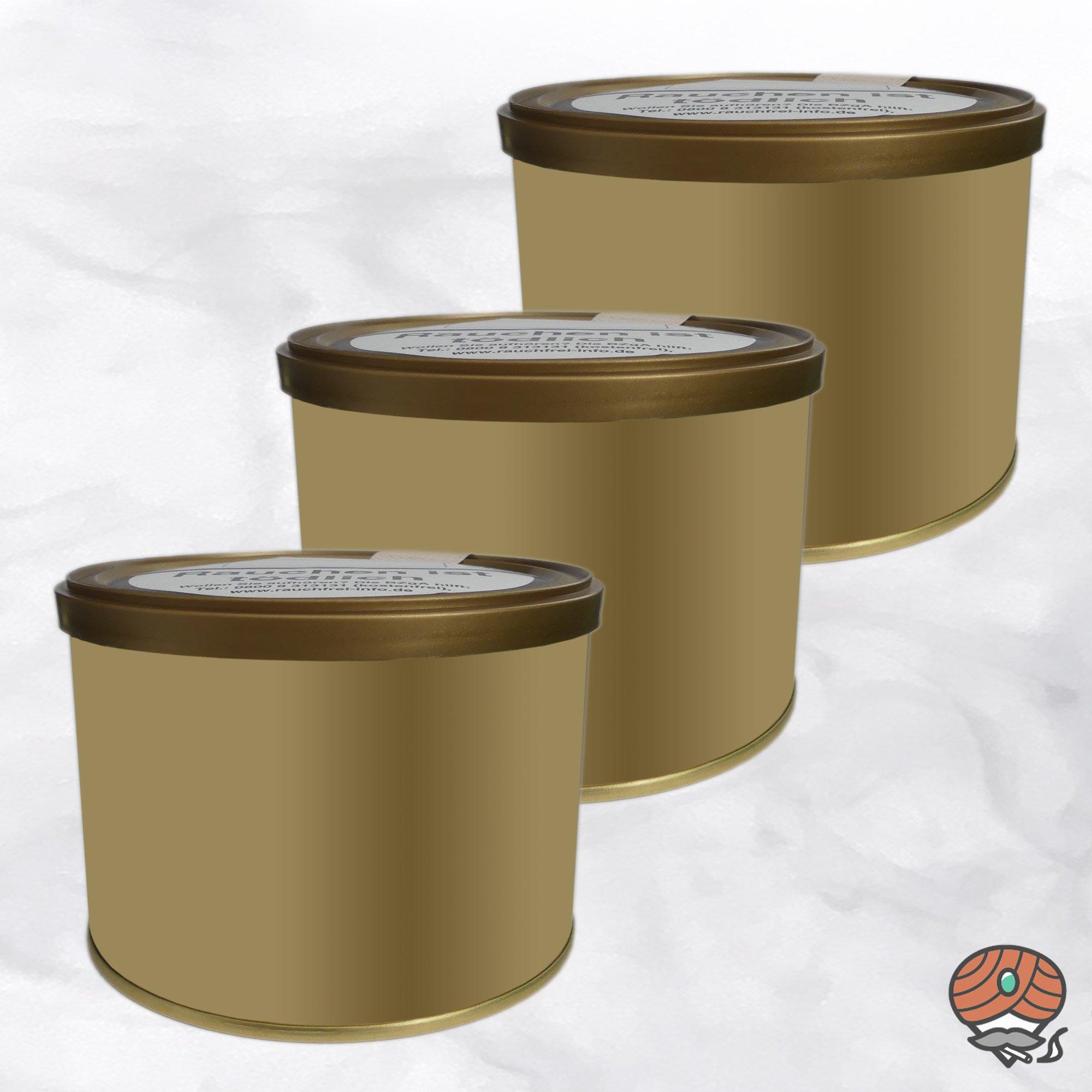 3 x Pfeifentabak EM 222 - Bourbon Vanille Aroma, 100g Dose