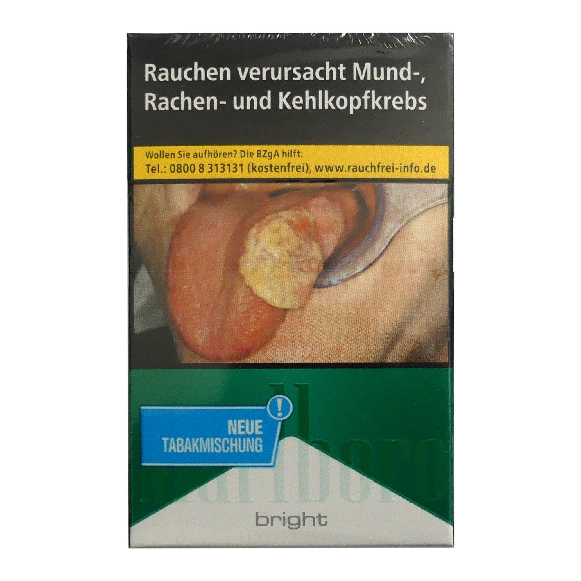 Marlboro Bright Zigaretten (ohne Menthol) Inhalt 20 Stück