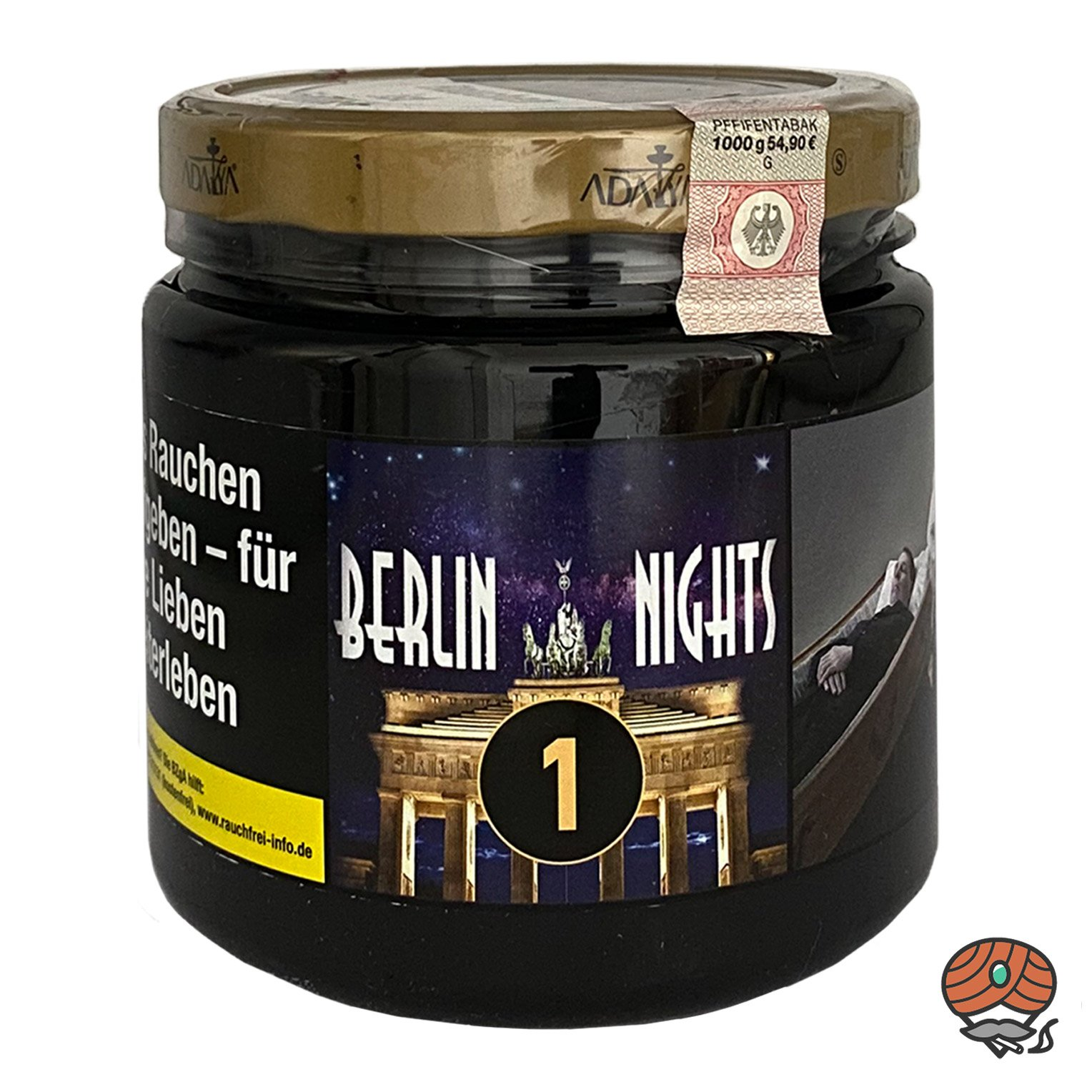 ADALYA BERLIN NIGHTS #1 - 1000 g Shisha Tabak