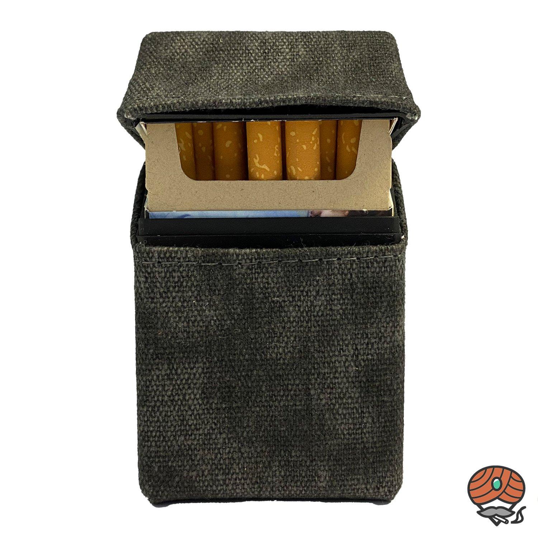 Atomic Jeans Zigarettenbox für eine 20er Packung - Blau