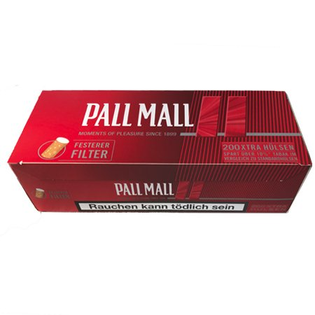 200 Pall Mall Red Xtra Filterhülsen