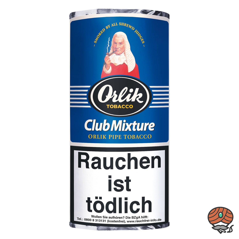 Orlik Club Mixture Pfeifentabak 50g Pouch / Beutel