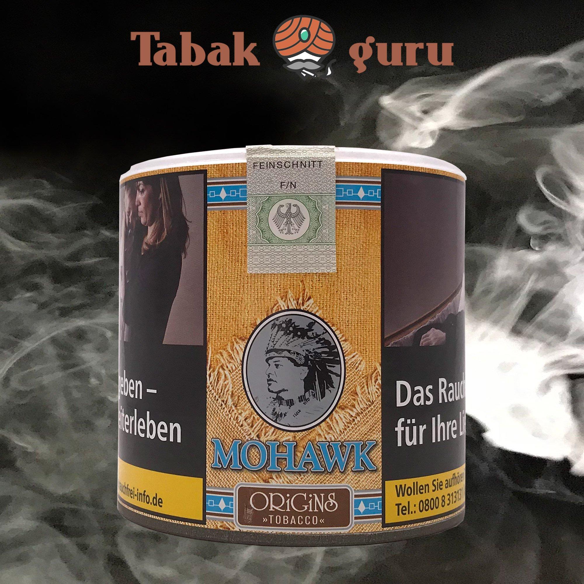 Mohawk Origins (o. Zusätze) Tobacco Volumen- / Zigarettentabak 70g Dose