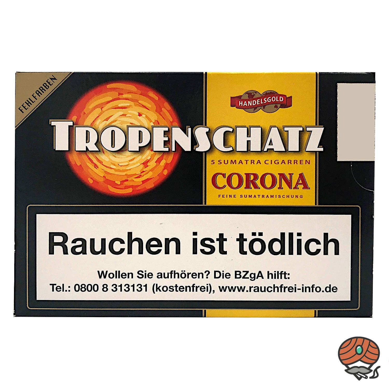 Handelsgold Tropenschatz No. 421 Sumatra Corona, 5 Stück