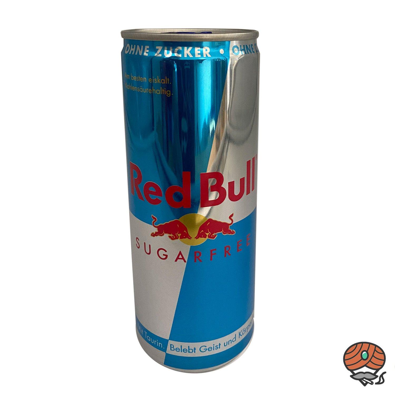 Red Bull Energy Drink, Sugarfree/ Zuckerfrei, 250 ml Dose