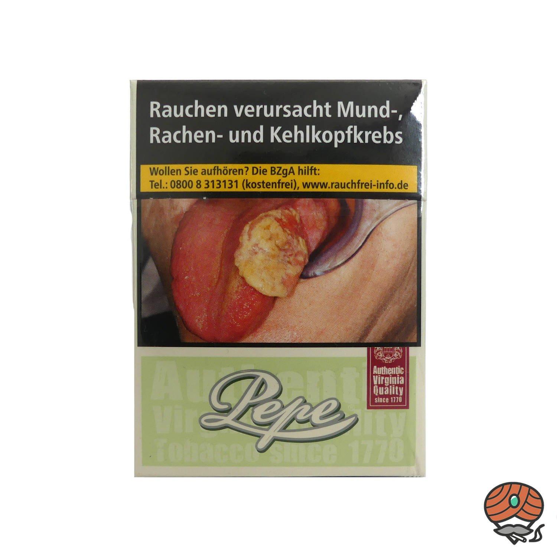Pepe Easy Green MAXI PACK Zigaretten ohne Zusätze Inhalt 30 Stück