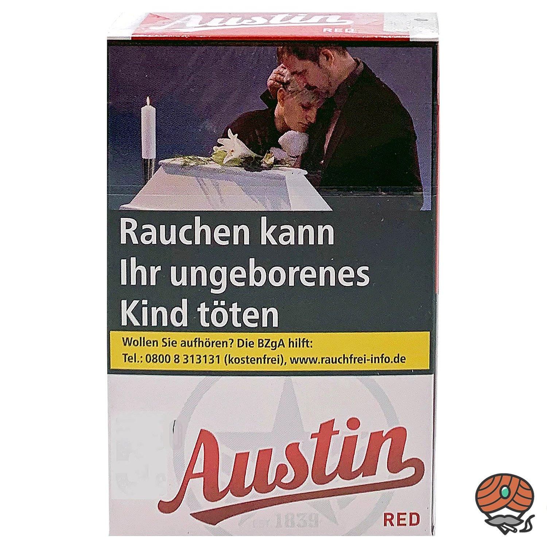 Austin Red Original Zigaretten OP 20 Stück