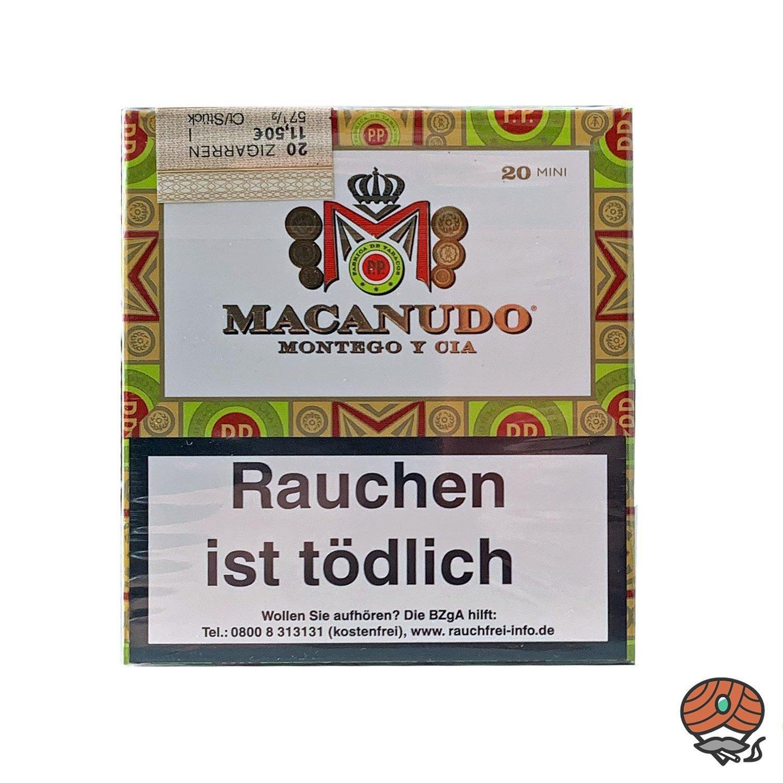 Macanudo Mini 20er Packung Zigarren / Zigarillos