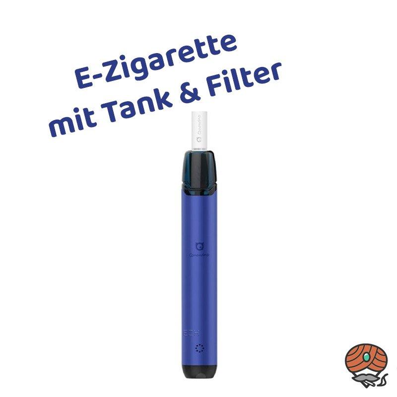Quawins Vstick Pro Kit E-Zigarette mit Filter in Blau (navy blue)