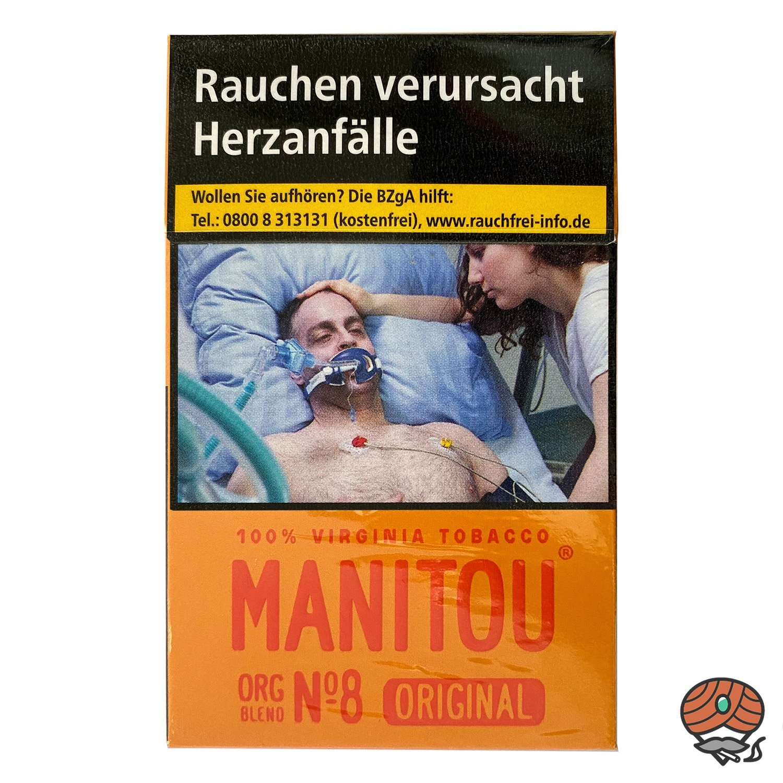 Manitou Organic Blend Original No. 8 Zigaretten 20 Stück