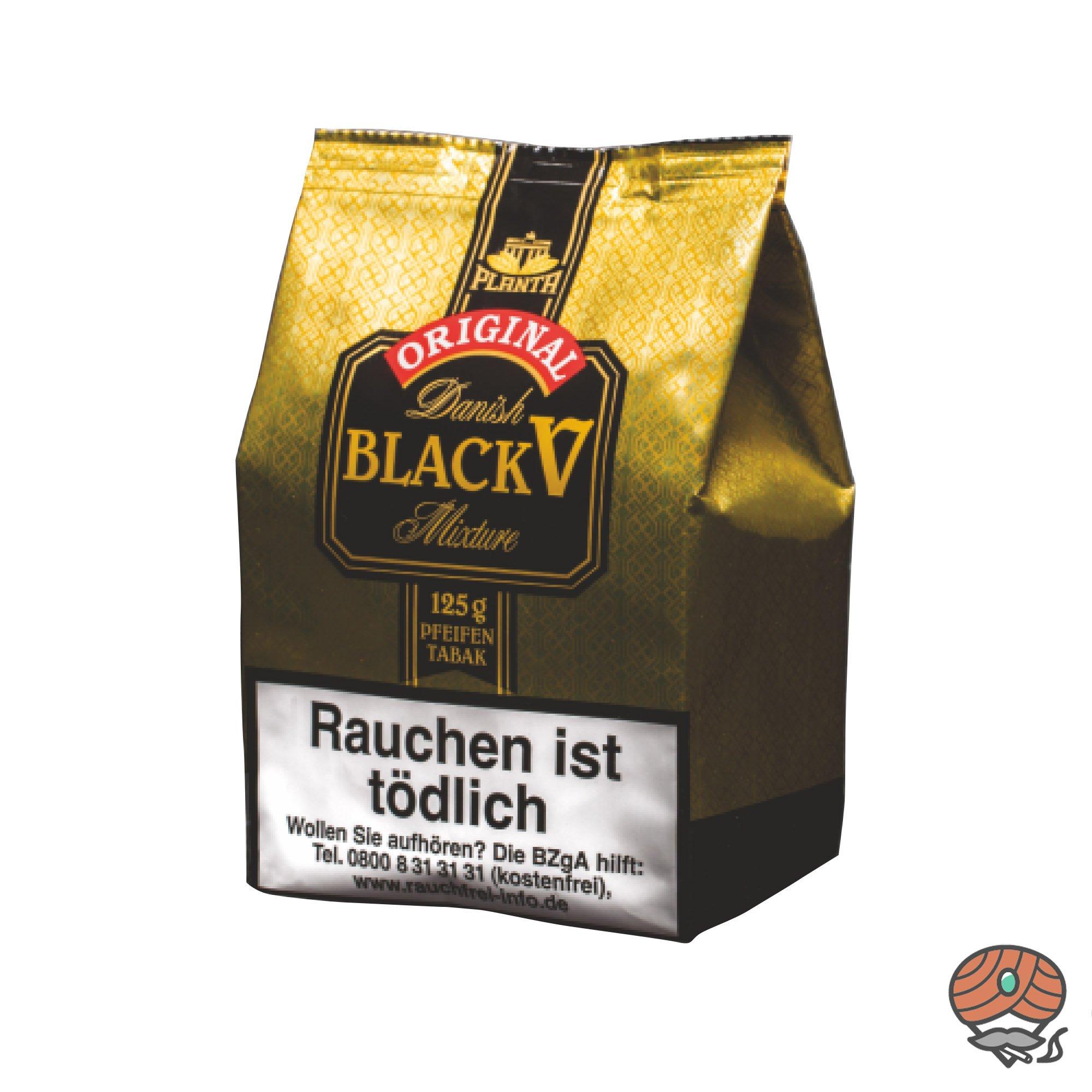 Danish Black V Pfeifentabak Vanille Aroma 125g Beutel