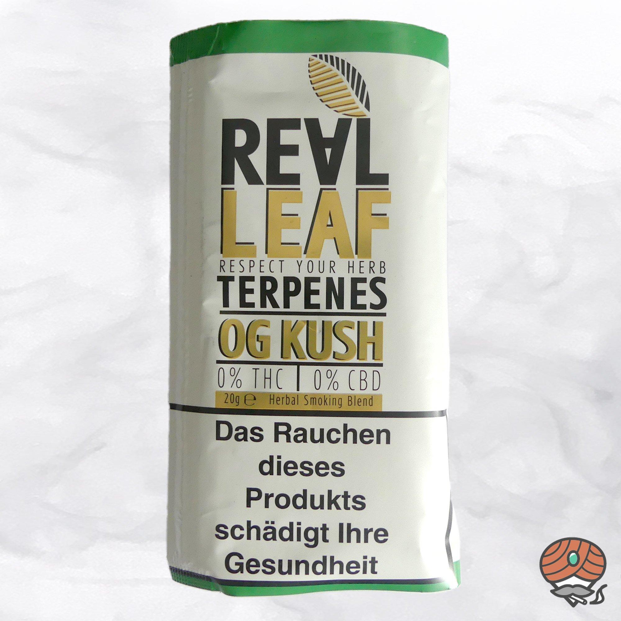 Real Leaf OG Kush, Tabakersatz, nikotinfrei, Kräutermischung 20g