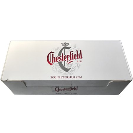 Chesterfield Red Filterhülsen 200 Stück