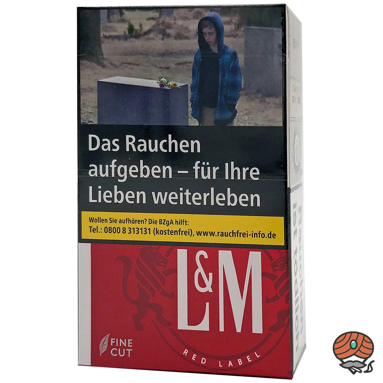 L&M Red Label Zigaretten Inhalt 20 Stück