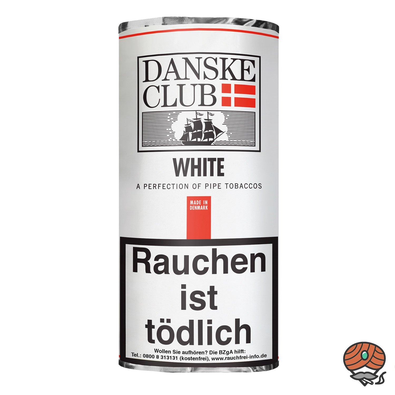 Danske Club White Pfeifentabak 50g Pouch / Beutel