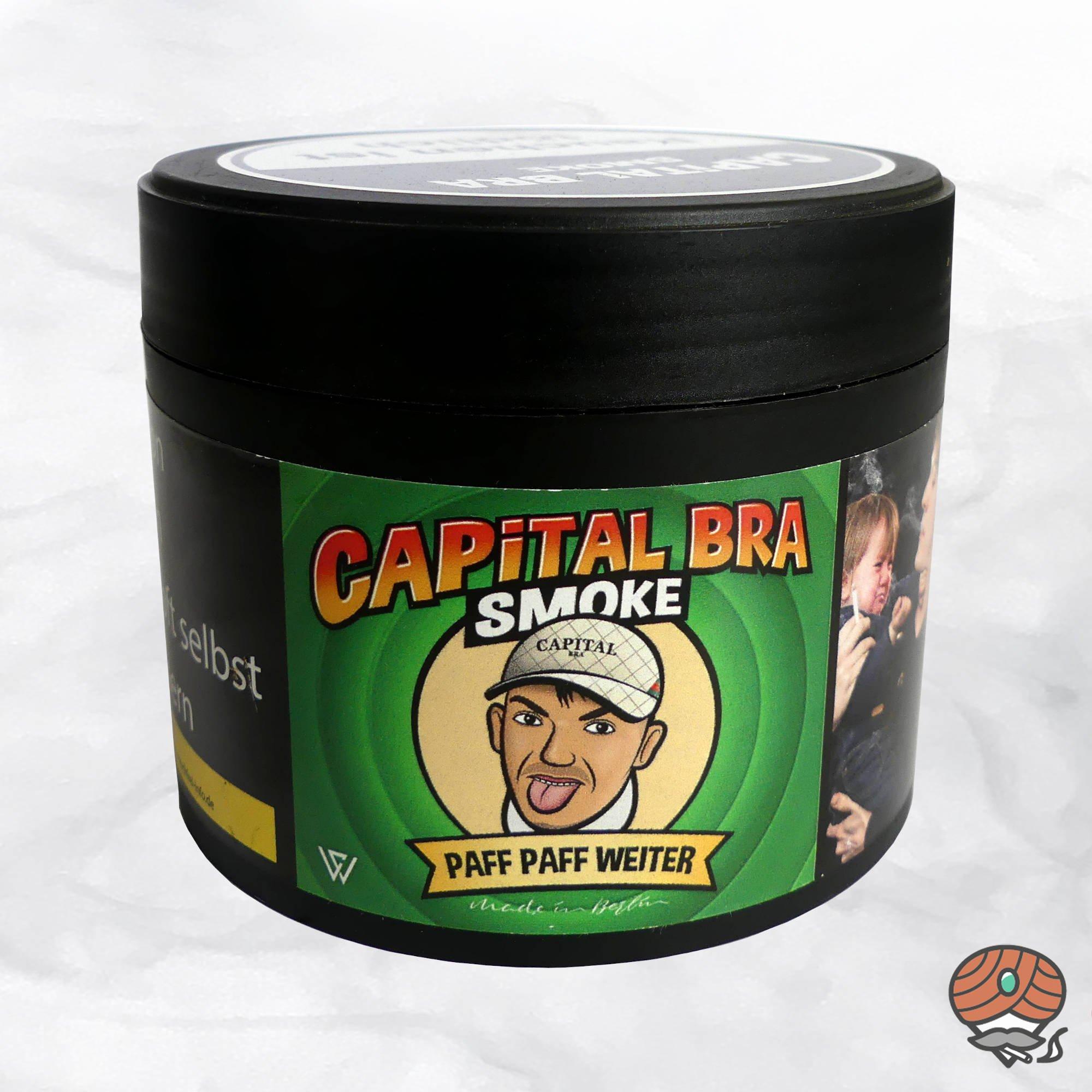 Capital Bra Smoke Shisha Tabak - Paff Paff Weiter 200g