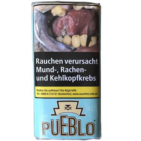 Pueblo Blue ohne Zusätze Feinschnitt Drehtabak 30 g Pouch