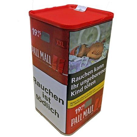 Pall Mall Red XXL 95 g Dose Volumentabak