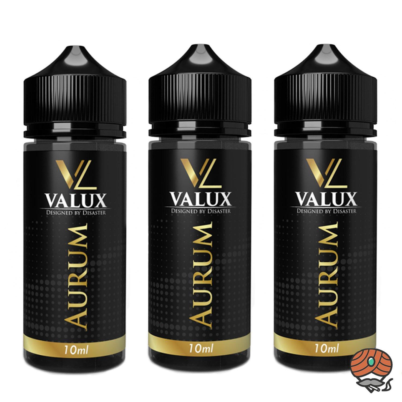 3 x Valux Aurum 10 ml Aroma + Leerflasche, Longfill