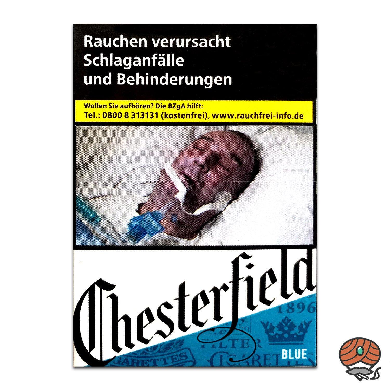 Chesterfield BLUE Zigaretten XXL Schachtel - 25 Stück