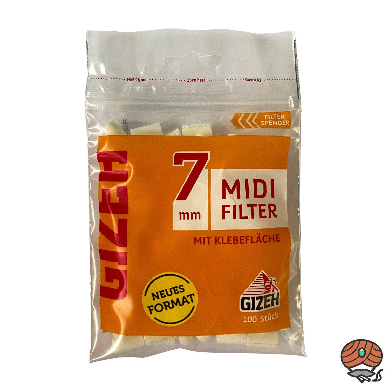 Gizeh MIDI Filter, 7 mm, Beutel à 100 Filter