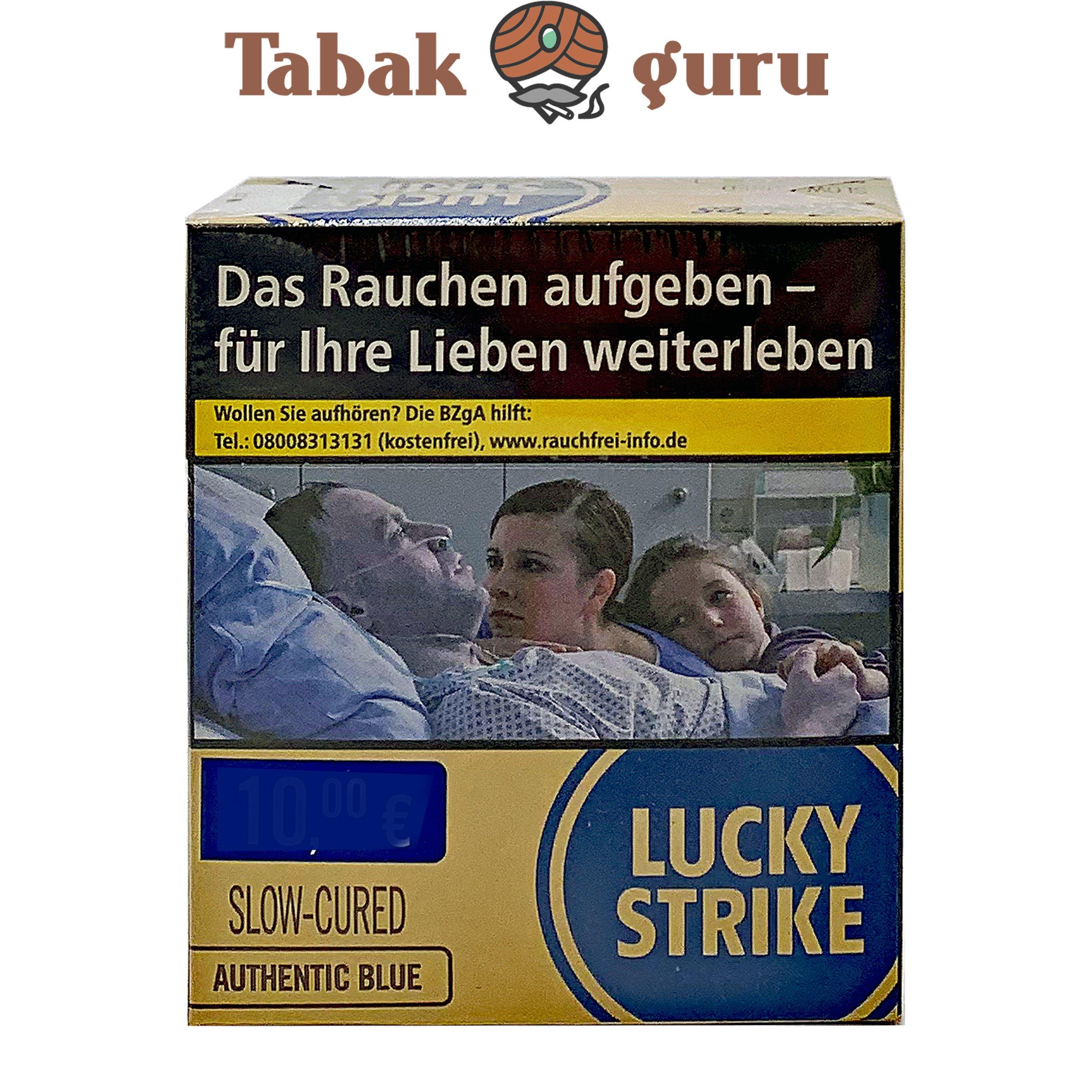 Lucky Strike Authentic Blue Zigaretten Giga Box (ohne Zusätze) Inhalt 31 Stück