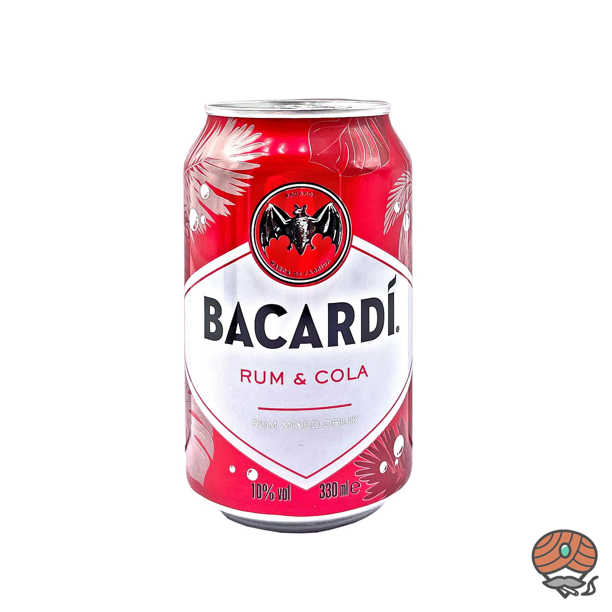 Bacardi Rum - Cola 0,33 l inkl.0,25 Euro Pfand (alc. 10% Vol)