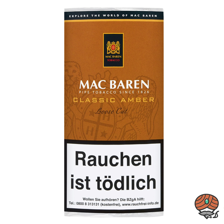 Mac Baren Classic Amber Loose Cut Pfeifentabak 50g Pouch
