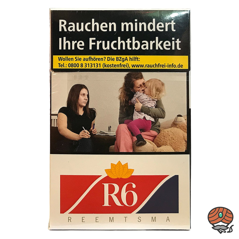 R6 Zigaretten (Reemtsma No. 6) 20 Stück