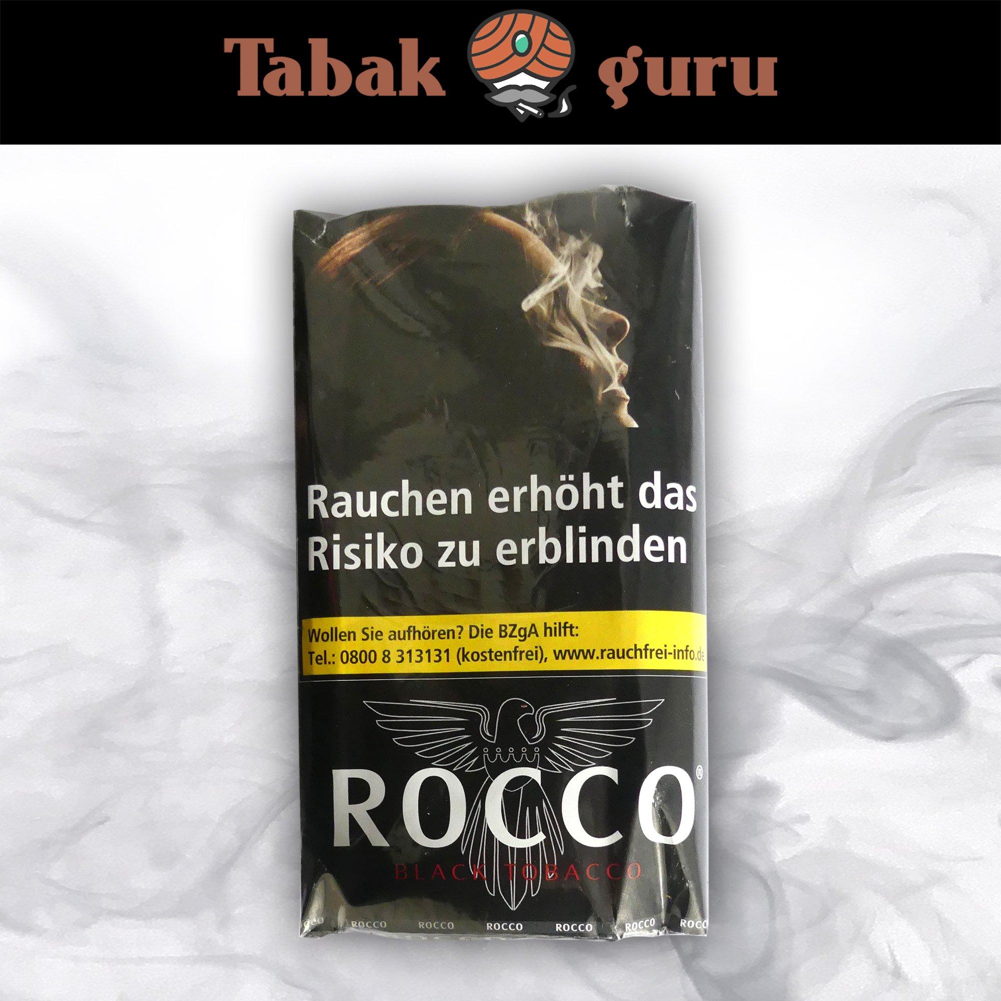 ROCCO Black Tobacco Drehtabak 38 g
