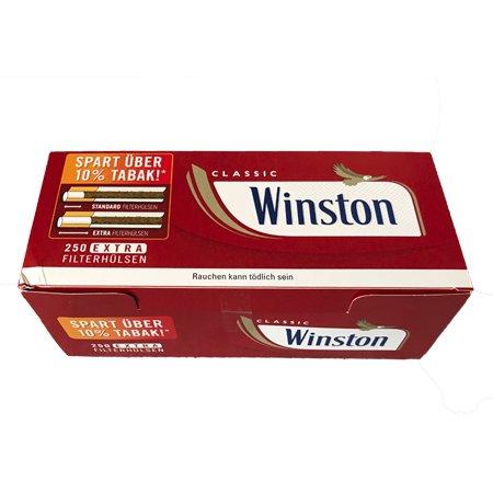 Winston Extra Hülsen (250 Stück)