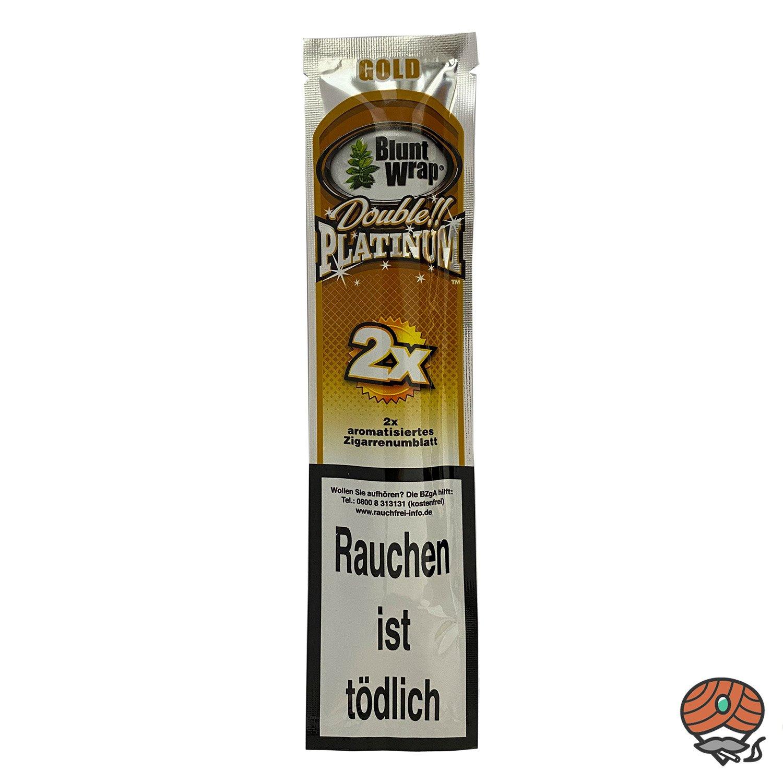 Blunt Wrap GOLD (Honig) - Paperersatz aus echten Tabakblättern