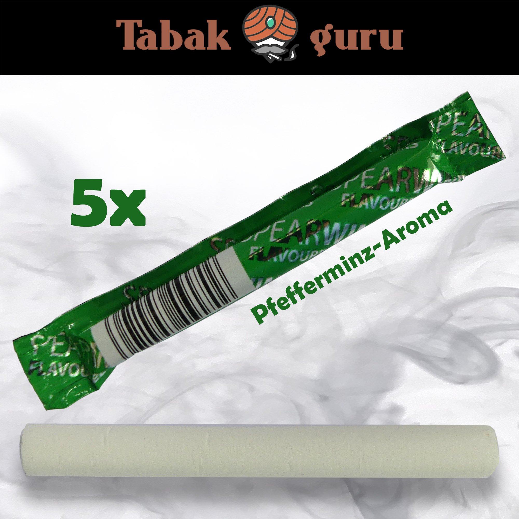 5 x SPEARWIND MINT Pfefferminz-Aroma für Zigaretten & Tabak - Aroma-Sticks