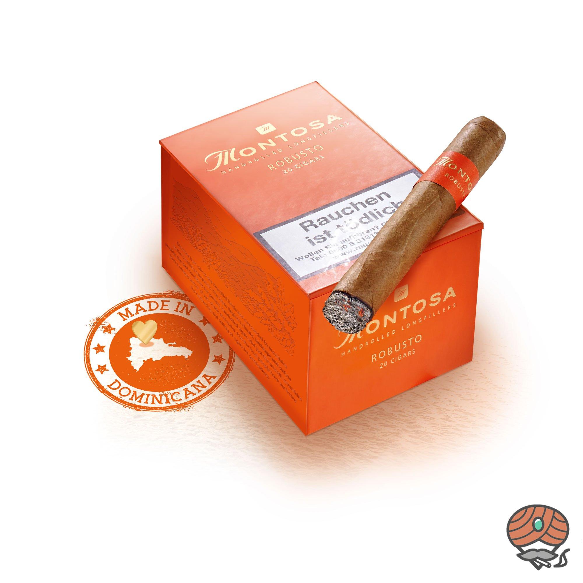 Montosa Robusto Zigarren 20 Stück, Dominikanische Republik