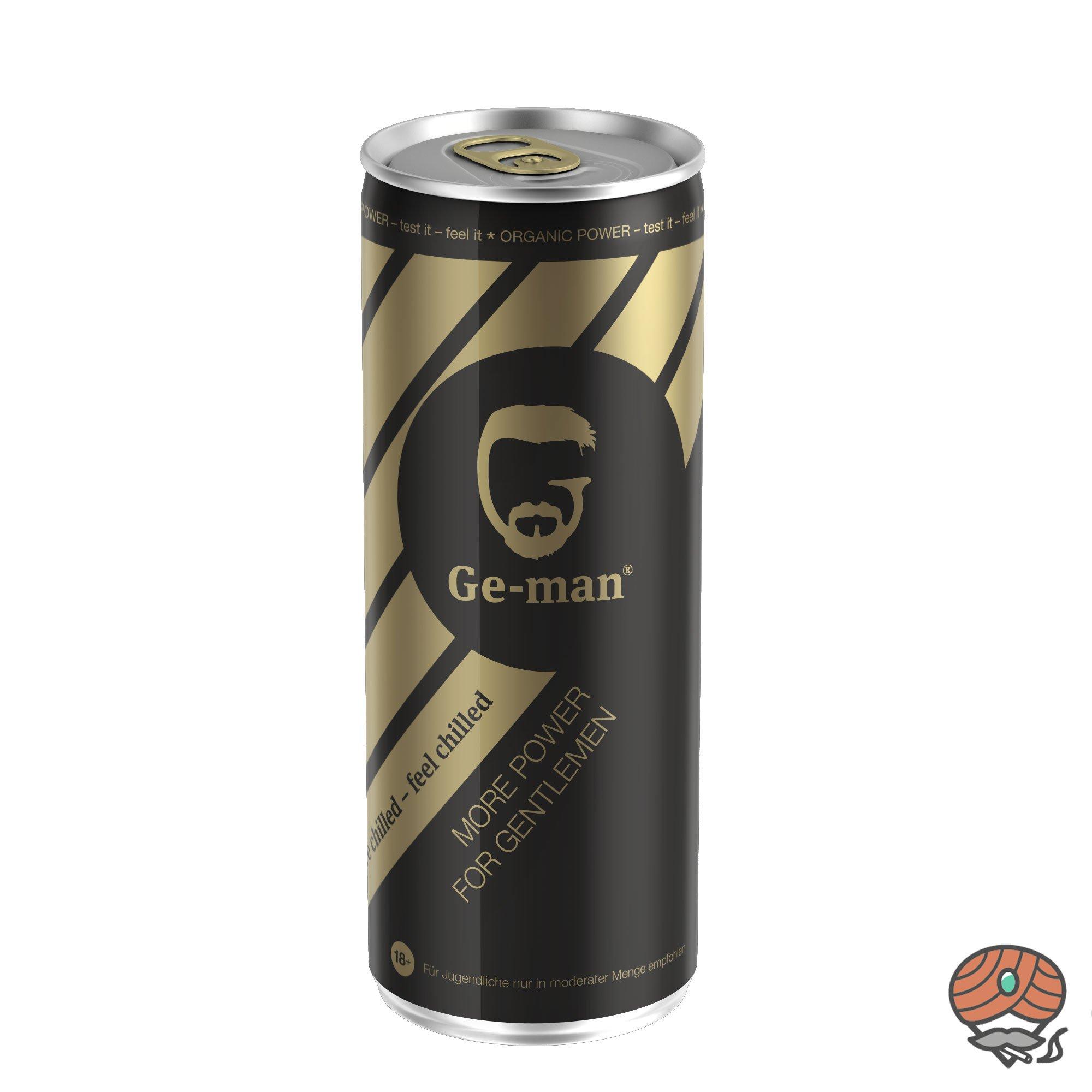 Ge-man Energy Drink (Zitrus) 250ml (inkl.0,25 Euro Pfand)