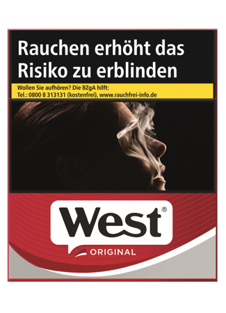 West Red Zigaretten 33 Stück