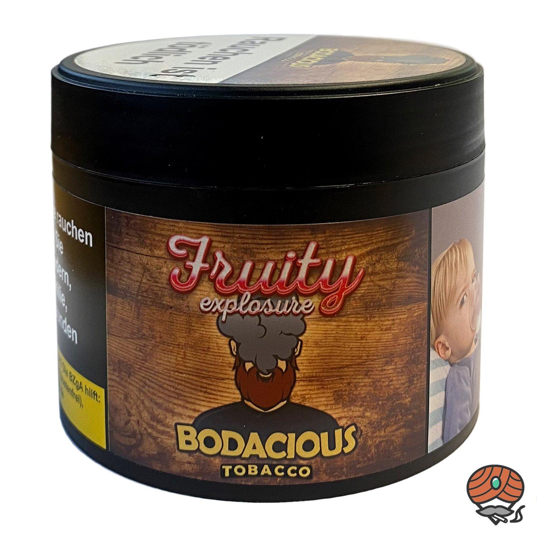 BODACIOUS Tobacco Fruity explosure 200 g - Shisha Tabak