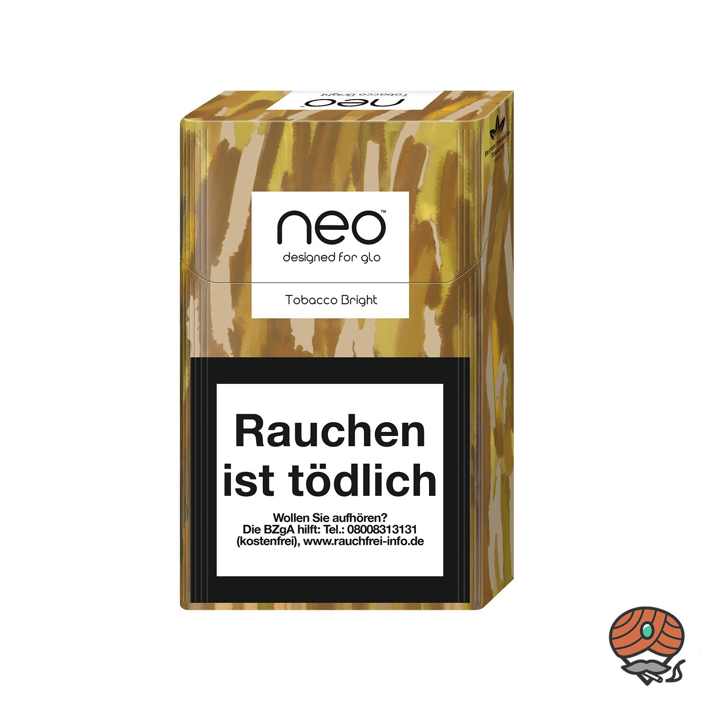 neo Tobacco Bright für GLO - Tabak Sticks 20 Stück