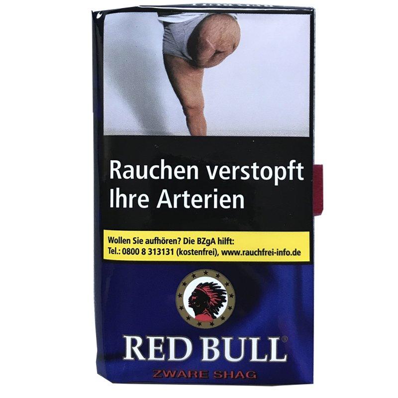 Red Bull Zware Shag Zigarttentabak 40 g Pouch