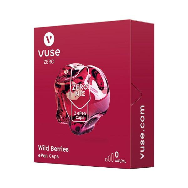 Vuse ePen Caps 1x Wild Berries 0 mg/ml à 2 Caps (ehem. Vype ePen3)